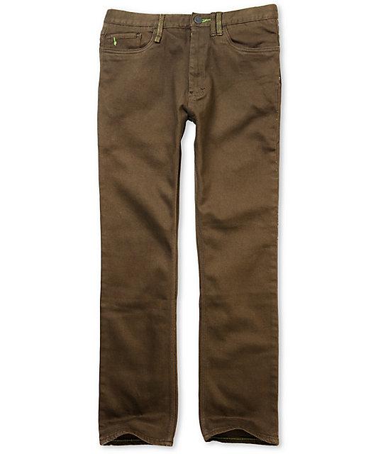 Altamont Wilshire Slash OD Brown Regular Jeans
