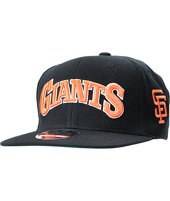 American Needle 2nd Skin Cooperstown Giants Snapback Hat