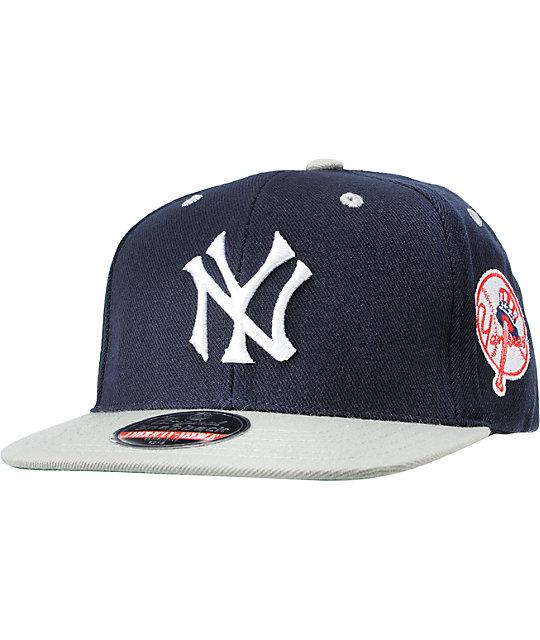 American Needle Blockhead New York Yankees Snapback Hat