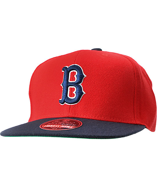 American Needle Red Sox Cooperstown Snapback Hat
