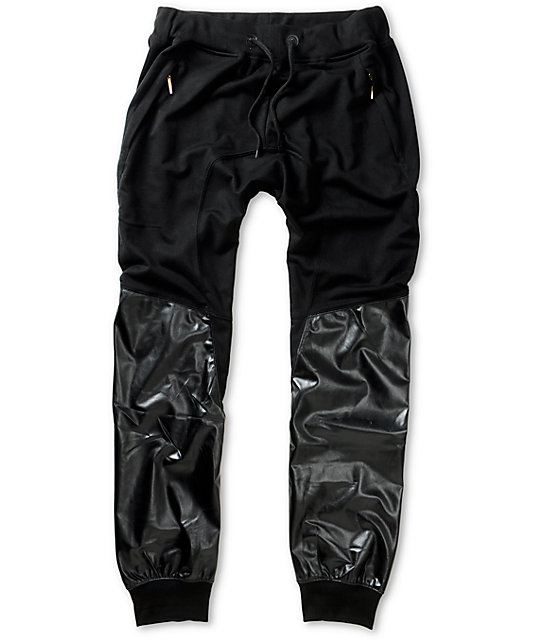 jogging pants with snakeskin print stripe COMFORTABLE JOGGERS FOR WOMEN Adapt the latest sporty women's joggers to your formal styles for a relaxed and fashionable look.