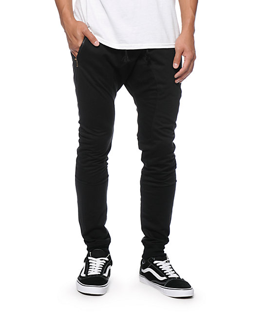 American Stitch Harem Black Jogger Sweatpants