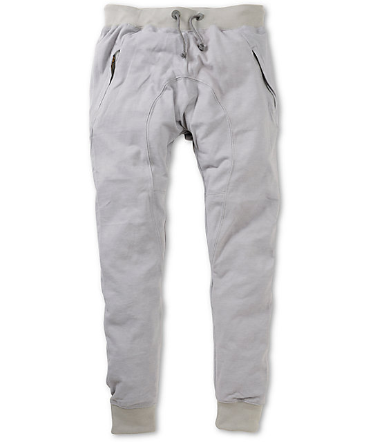 American Stitch Harem Light Grey Jogger Sweatpants At