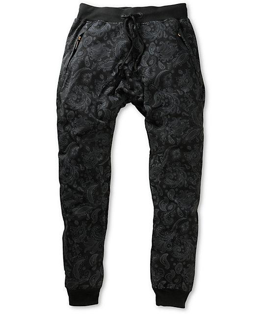American Stitch Paisley Jogger Sweatpants