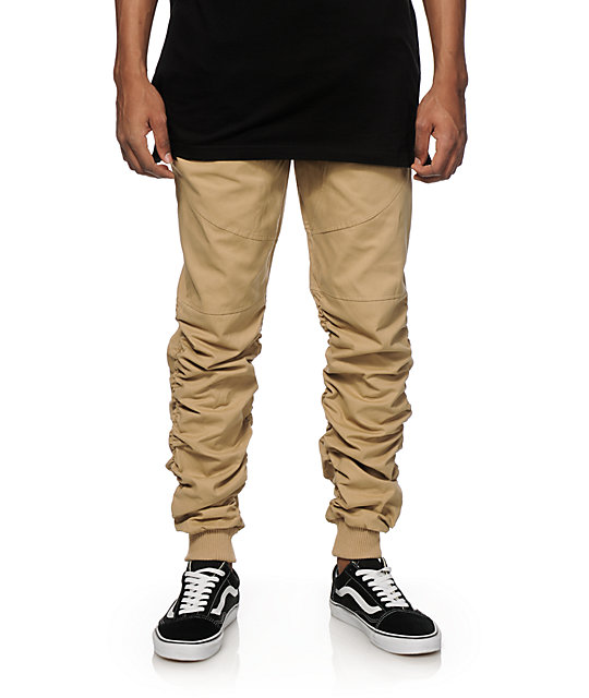 American Stitch Scrunch Twill Jogger Pants