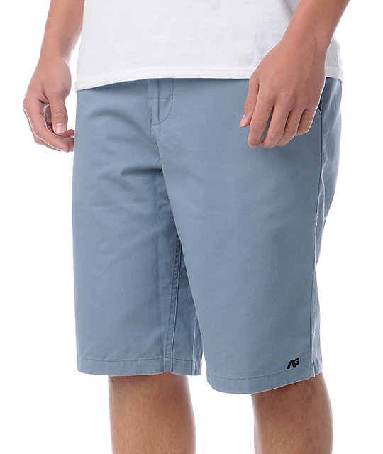 Analog AG Cadet Blue Chino Shorts