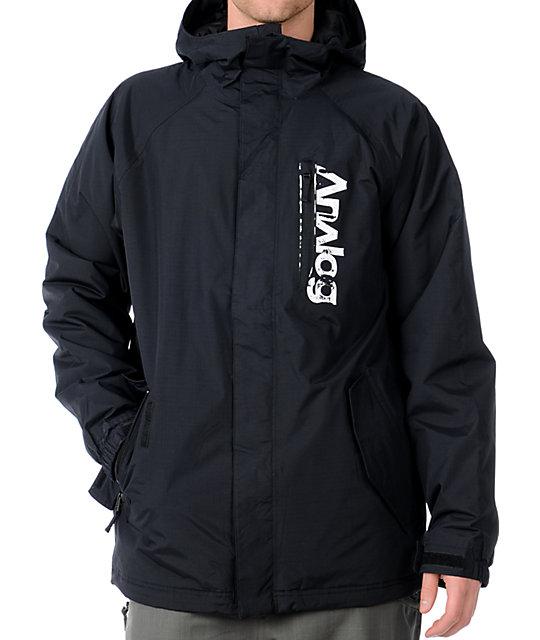 Analog Accord 10K Black Snowboard Jacket