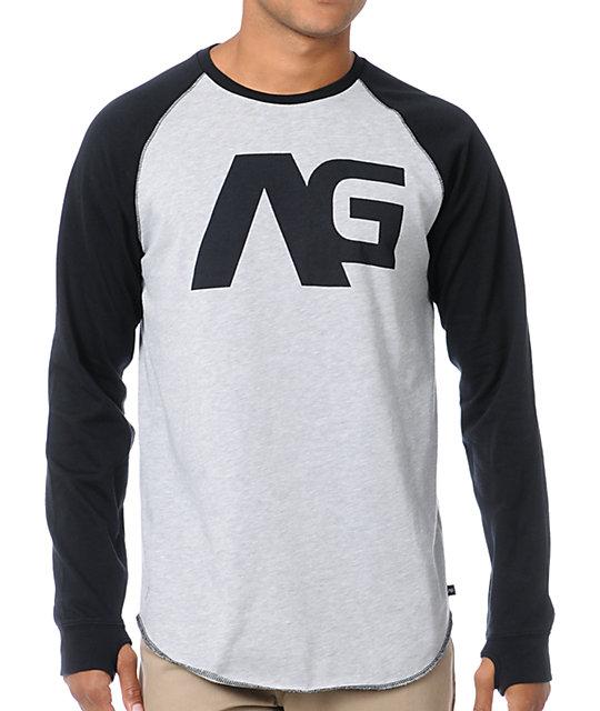 Analog Agonize ATF Long Sleeve Baseball Shirt