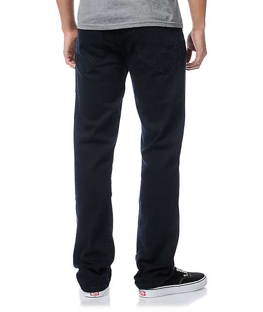 Analog Arto Blue Ink Regular Fit Jeans