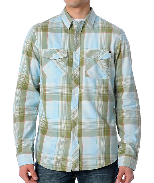 Analog Beyond Blue Woven Shirt