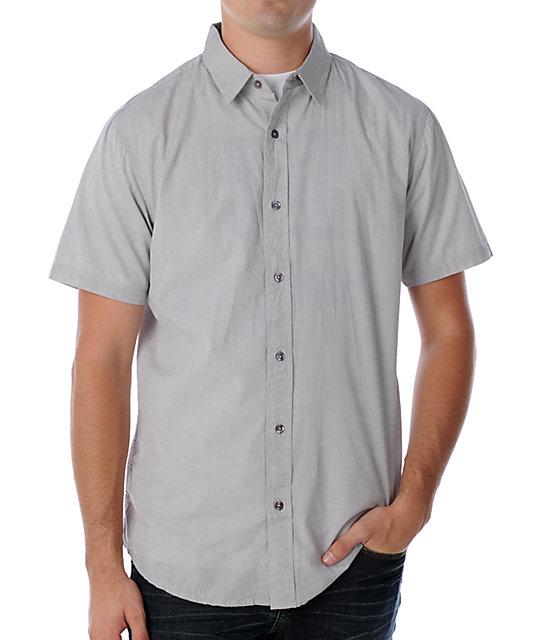 Analog Boris Silver Woven Shirt