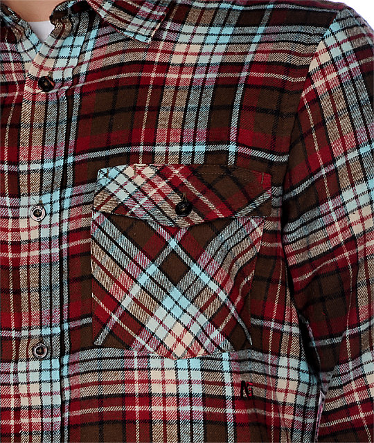 Analog Camper Red Flannel Shirt
