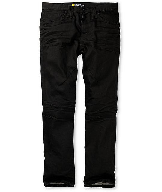 Analog Dylan Aged Black Skinny Jeans