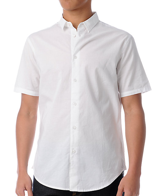 Dylan Rieder White Button Up Shirt