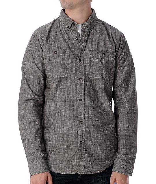 Analog Folsom Bark Woven Shirt