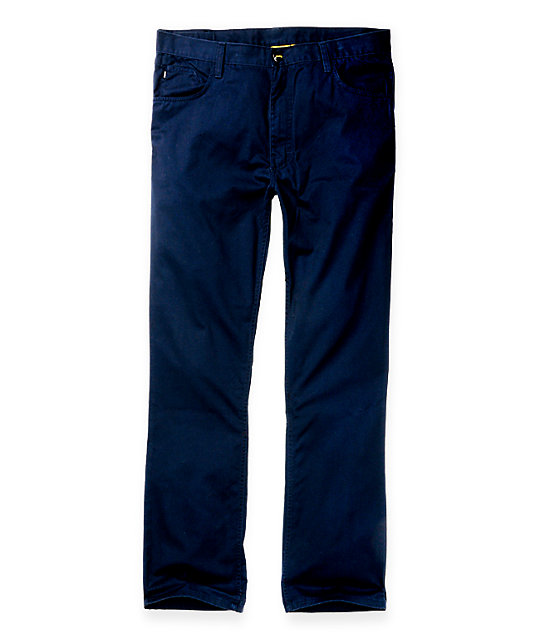 Analog Graves Navy Pants