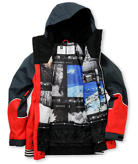Analog Greed Infared & Blue 10K Snowboard Jacket