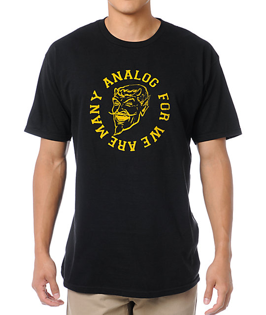 Analog Legion Black T-Shirt