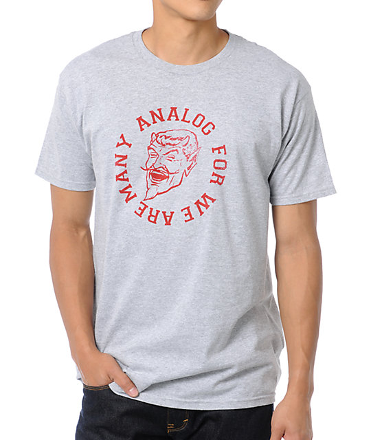 Analog Legion Grey T-Shirt