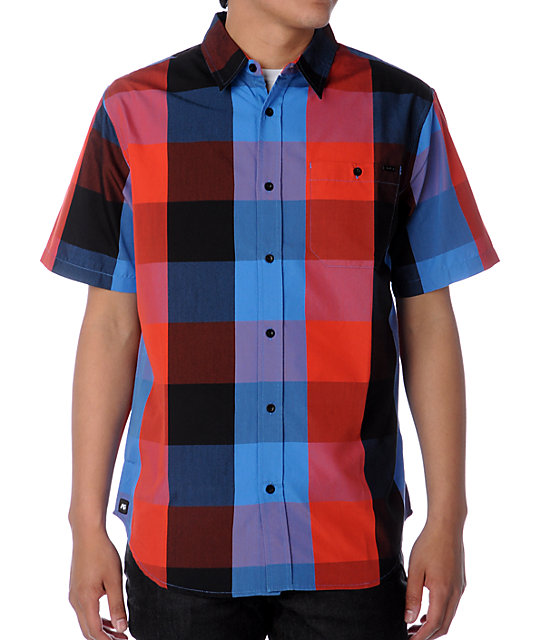 Analog Overdrive Blue Woven Shirt