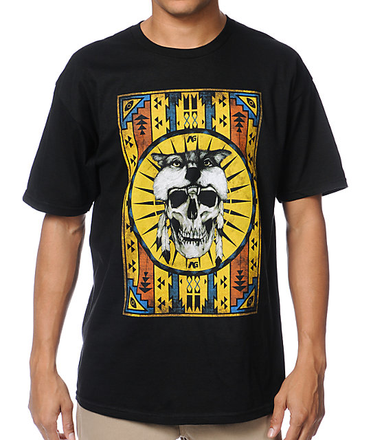 Analog Peyote Black T-Shirt