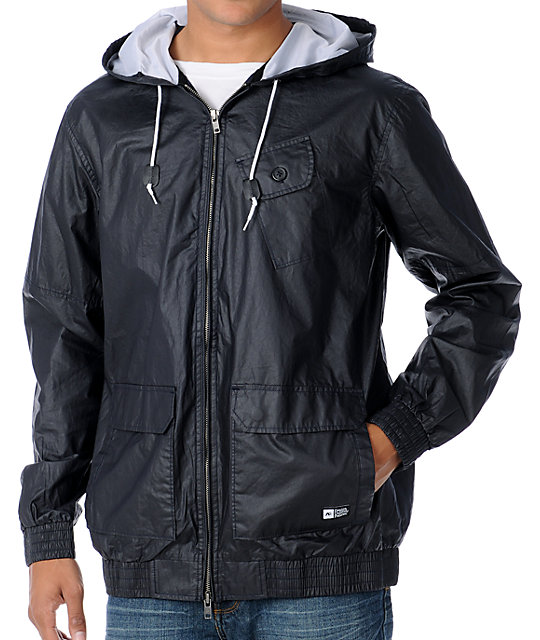 Analog Portland Dark Navy Windbreaker Jacket