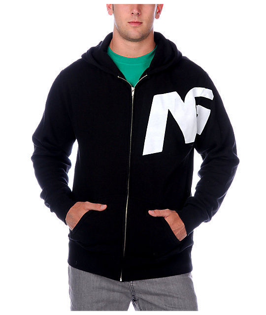 Analog Switch Black Hoodie