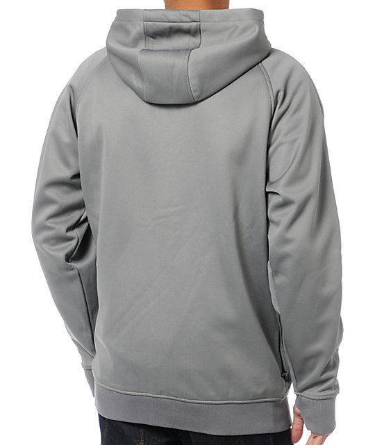Analog Transpose AFT Rideable Greyscale Fleece Hoodie