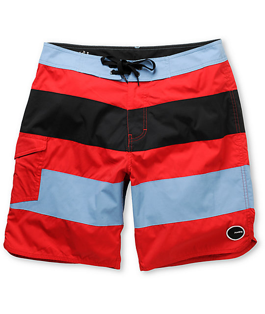 Analog Uno 19 Striped Board Shorts