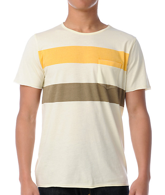 Analog Zuma Vellum Yellow T-Shirt