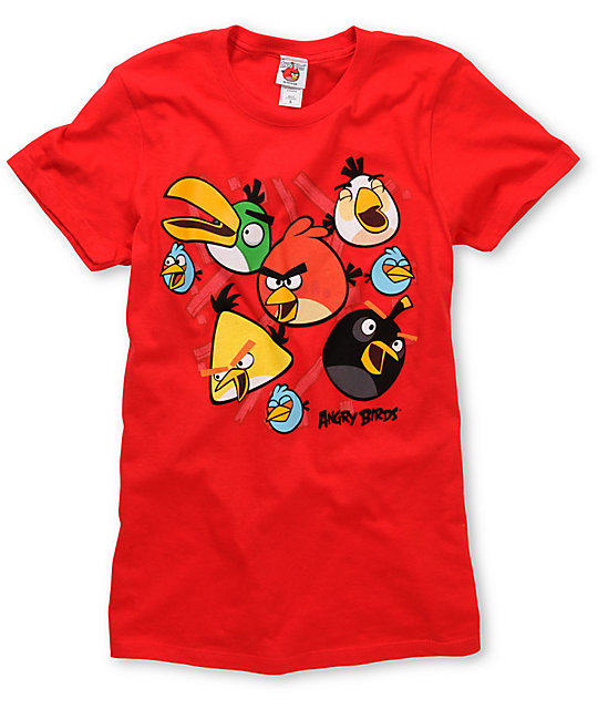 Angry Birds Happy Birds T-Shirt