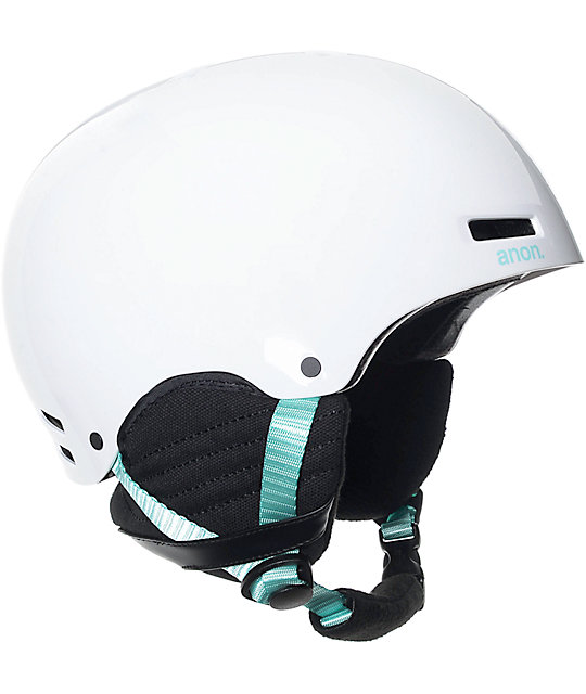 Anon Greta White Womens Snowboard Helmet