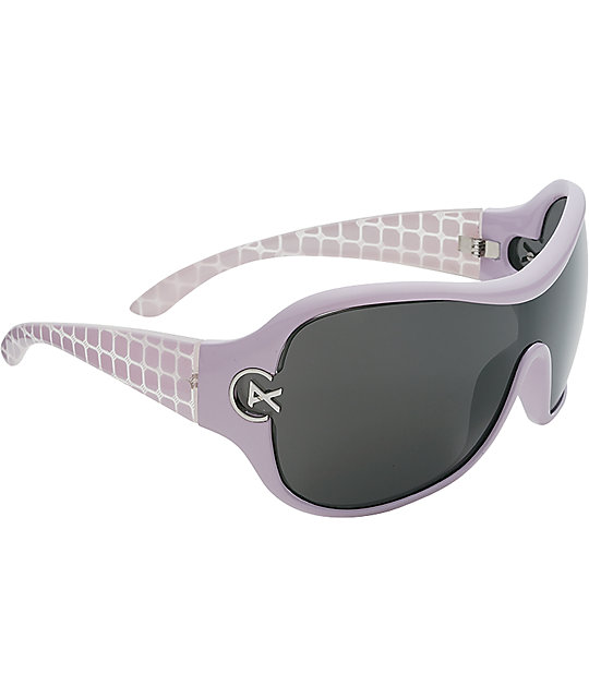 Anon Luce Light Purple & Grey Sunglasses