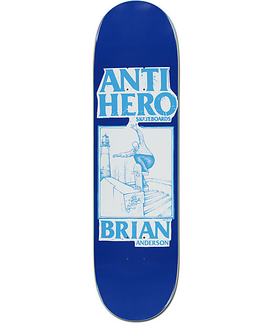 "Anti Hero BA Lance Art 8.38"" Skateboard Deck"