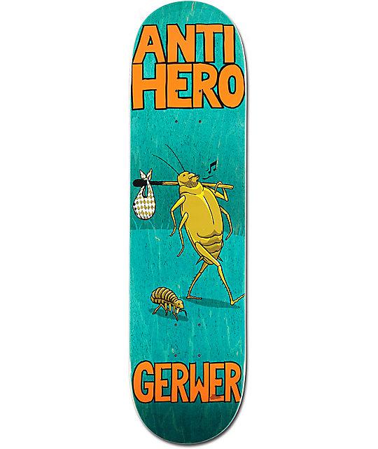 "Anti Hero Gerwer Roaches 8.12""  Skateboard Deck"