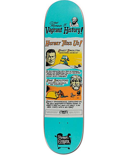 """Anti Hero Gerwer Vagrant History 8.12"""" Skateboard Deck"""