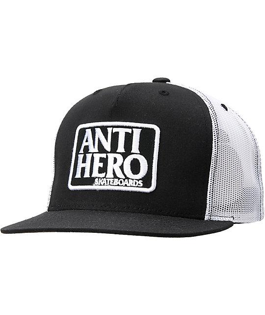 Anti-Hero Reserve Black & White Trucker Hat