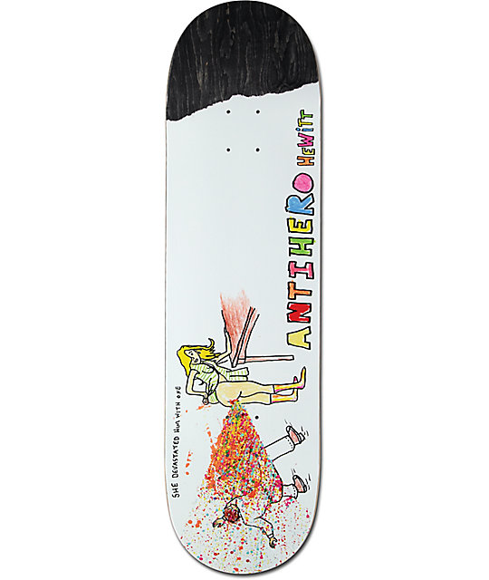 "Anti Hero x Porous Walker Hewitt 8.62""  Skateboard Deck"