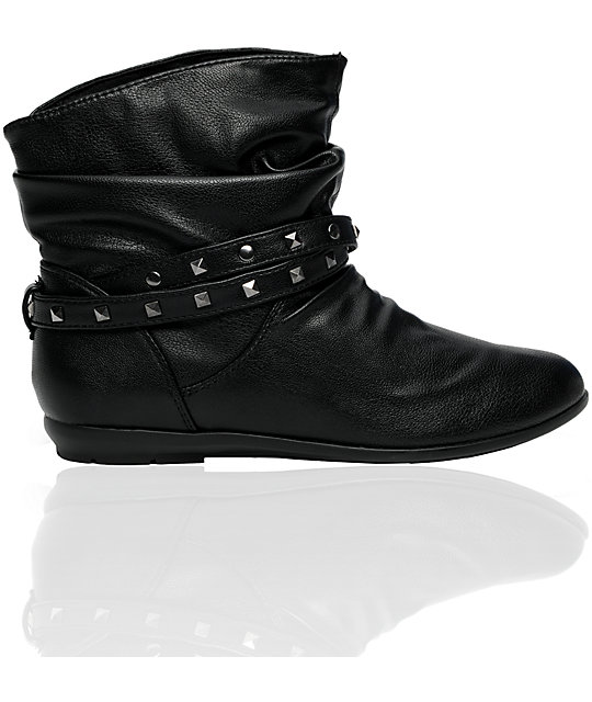 Antic Galena Black Boot