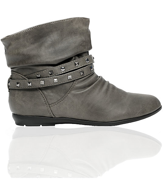 Antic Galena Grey Boot