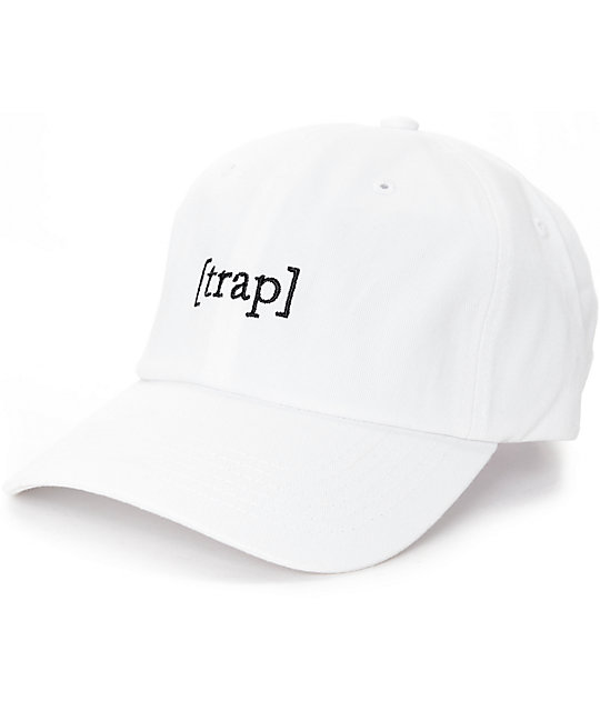 Any Memes %5BTRAP%5D White Dad Hat _144963 front CA memes [trap] white dad hat