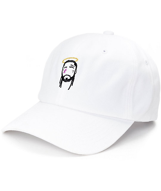 Any Memes Yams White Dad Hat _144962 front CA memes yams white dad hat