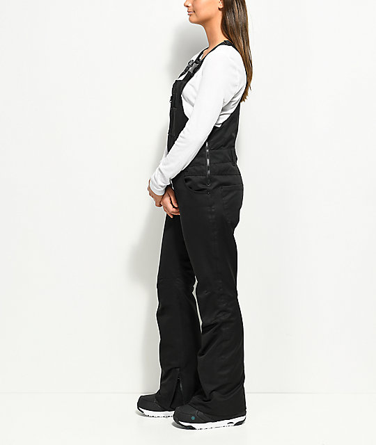 Aperture Adventure Black 10K Snowboard Bib Pants