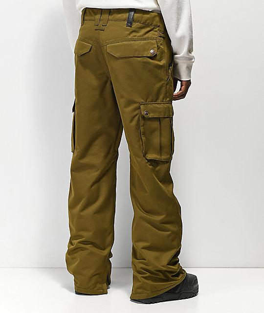 Pantalones Alive 10k Aperture De Snowboard Verdes DHE29I
