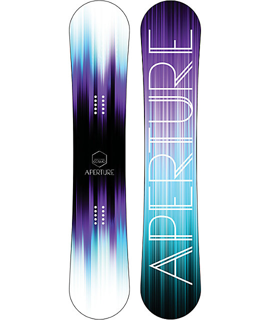 Aperture Cosmo 140cm Womens Reverse Camber Snowboard