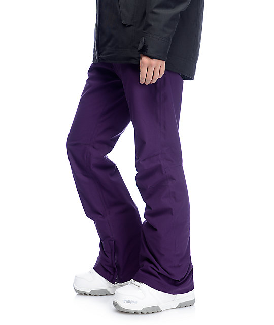 Aperture Crystal Blackberry 10K Stretch Snowboard Pants
