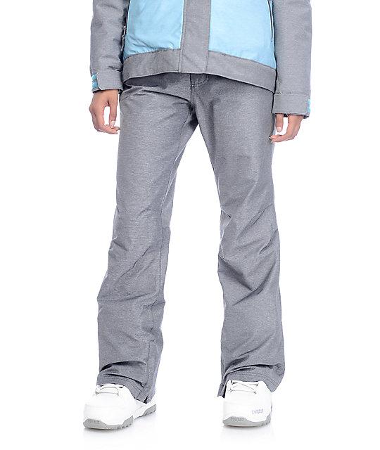 Aperture Crystaline Charcoal 10K Snowboard Pants