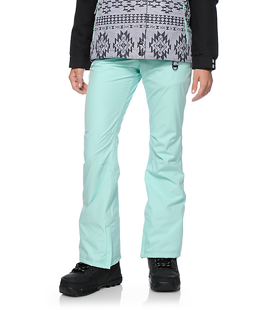 Aperture Crystaline Mint 10K Snowboard Pants