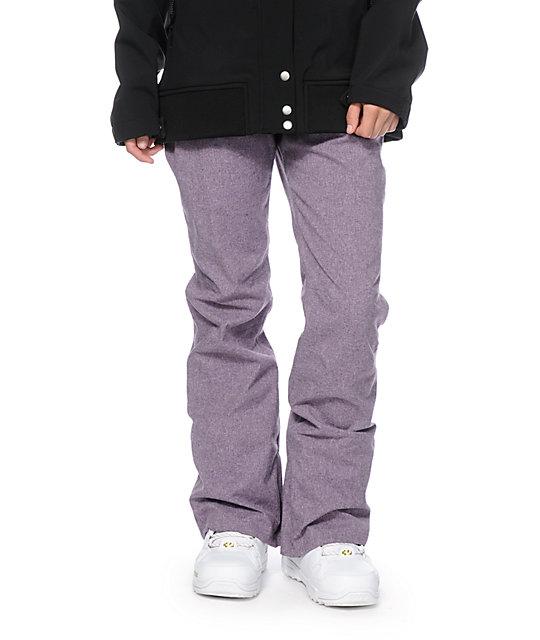 Aperture Crystaline Purple 10K Snowboard Pants