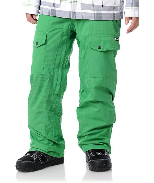 Aperture Drake Green Mens Snowboard Pants